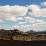 Die Aussicht vom Kamel: Lavafelder des Timanfya Nationalparks