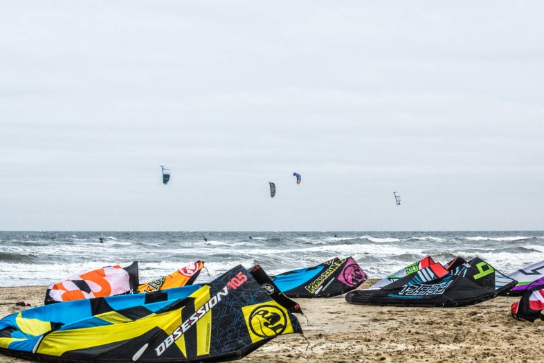 Kites in Blavand
