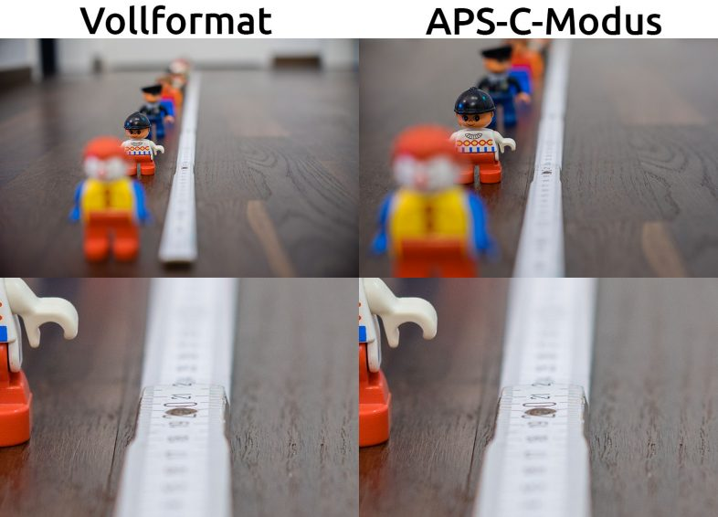 Vollformat vs APS-C